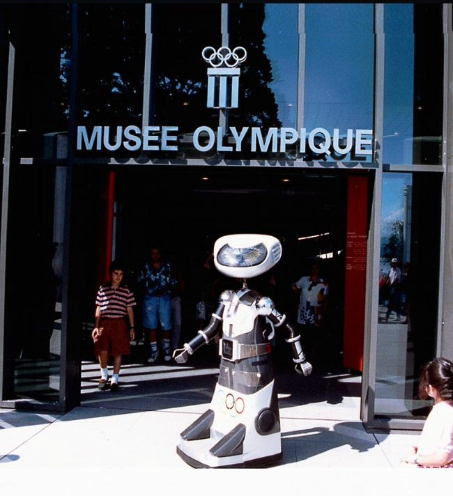 Robot Olympia Opening for Musee Olympique, June 23, 1993