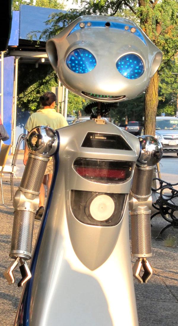 Rocky 4 Robot Sico International Robotics Inc