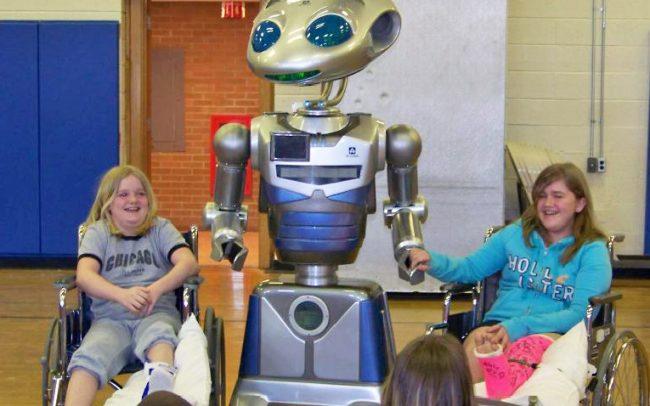 Robot School Visit