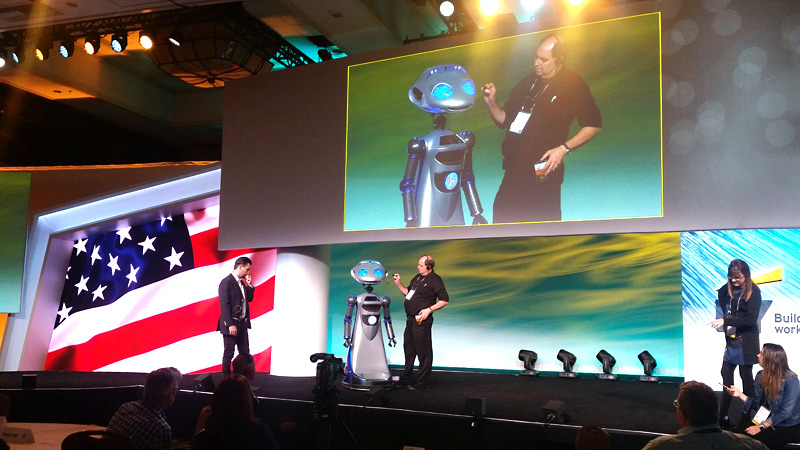 Rental Robot SICO at Stage Presentation