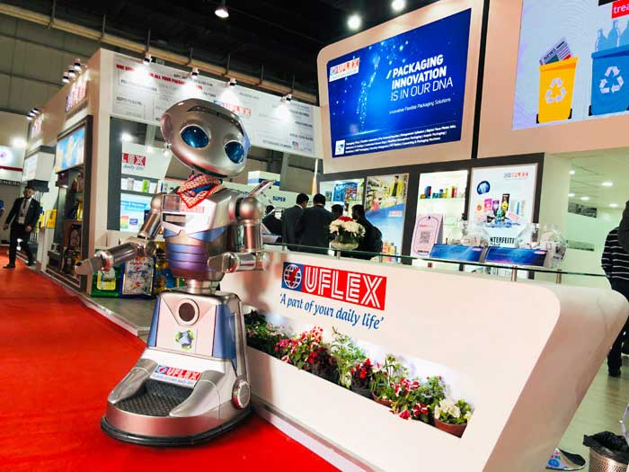 Robot Millennia uFlex Recycle Campaign 2019