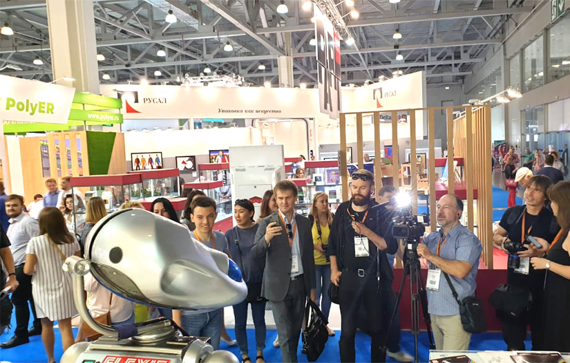 Uflex in Russia with Robot Millennia