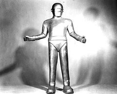 Gort the robot - The Day the Earth Stood Still
