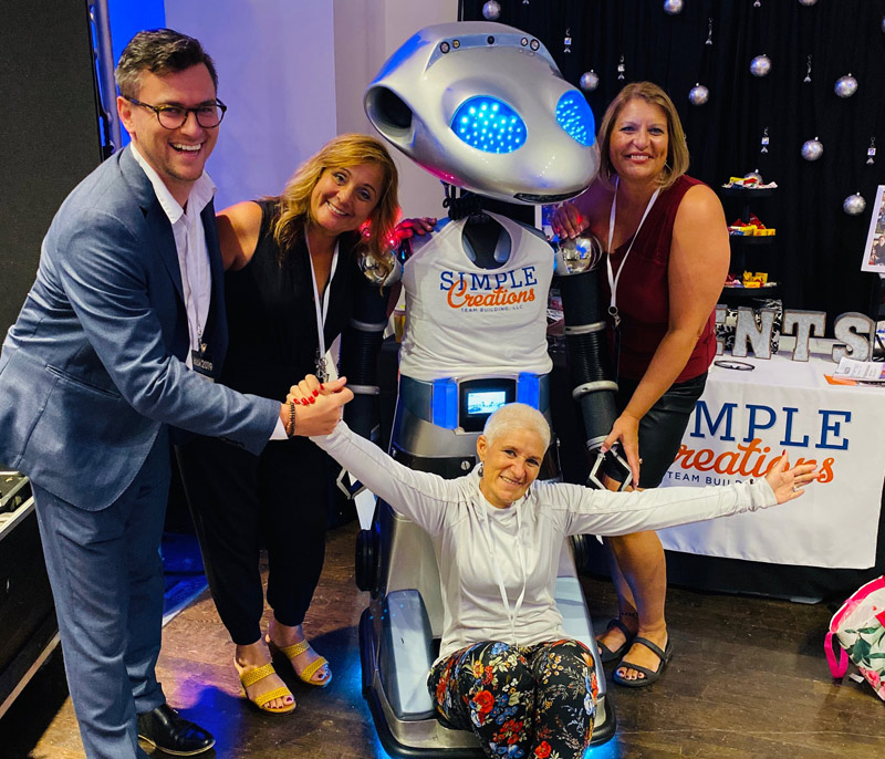 EVENT PLANNERS RENT ROBOT GEMO FOR NY EXPO