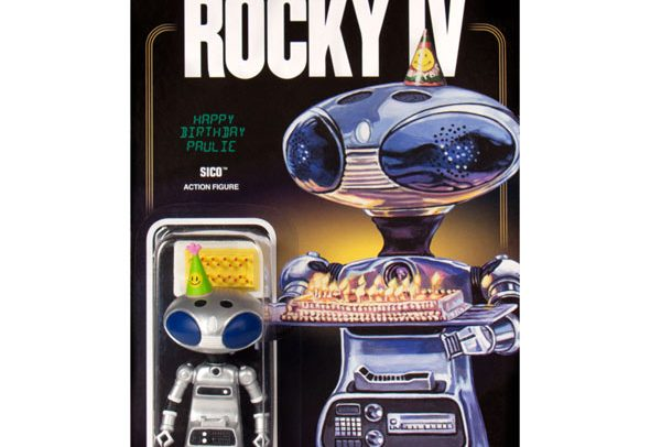 Rocky IV Robot SICO reAction figure toy from 1985 film.