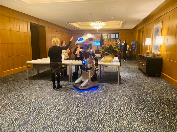 Private Events: Robot Rental at Four Seasons Hotel in Boston