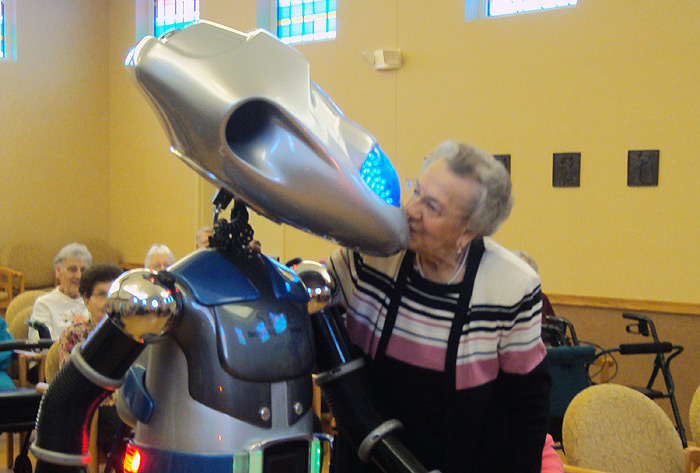 ROBOT THERAPY: Loneliness and the Elderly