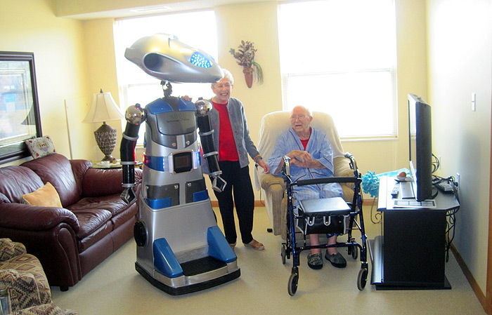 ROBOT THERAPY - Loneliness & Older Adults