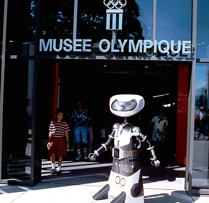 Robot Olympia at the Musee Olympique